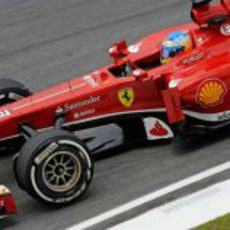 Fernando Alonso saldrá en tercera posición en el GP de Malasia 2013