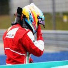 Fernando Alonso, al borde del llanto, en Sepang