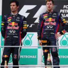 Tensión entre los pilotos de Red Bull