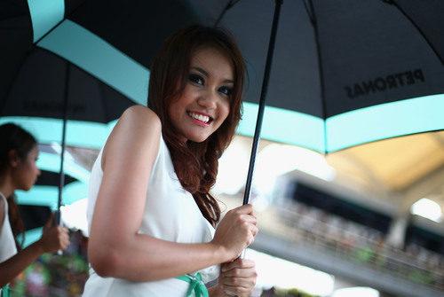 Pitbabe en el Gran Premio de Malasia 2013