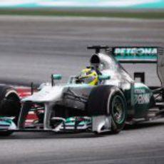 Nico Rosberg en Malasia
