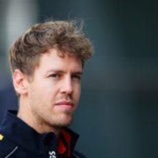 Sebastian Vettel en China