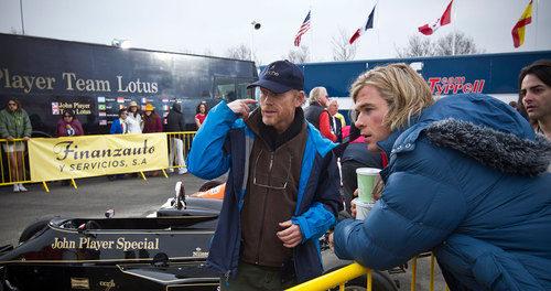 Ron Howard y Chris Hemsworth