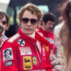 Niki Lauda interpretado por Daniel Brühl