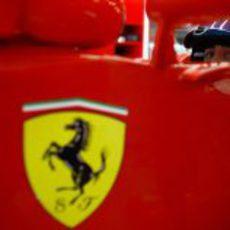 El Cavallino Rampante con Fernando Alonso en el Gran Premio de China