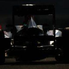 Trasera del Red Bull RB9