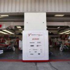 El garaje de Toyota