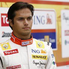 Piquet en Silverstone