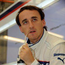 Kubica en Silverstone