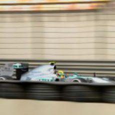 Lewis Hamilton a pista