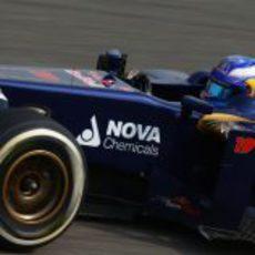 Daniel Ricciardo a toda velocidad