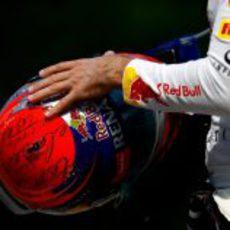 Nuevo diseño de casco de Sebastian Vettel