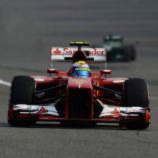 Felipe Massa rueda en los Libres 3 del GP de China