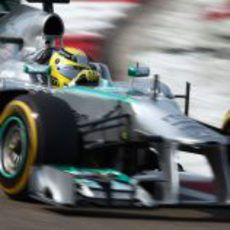 Nico Rosberg vuela en la clasificación del GP de China 2013