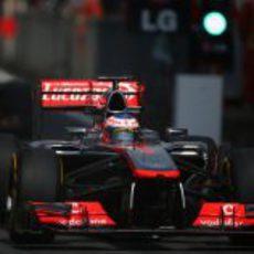 Jenson Button tuvo ritmo en Shanghái