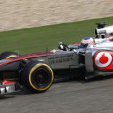 Jenson Button, conservador en China