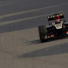 Kimi Räikkönen rodando en China