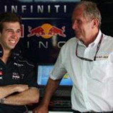 Antonio Félix da Costa con Helmut Marko