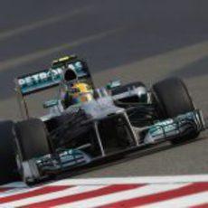 Lewis Hamilton, a por la pole