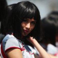 Pitbabe en el Gran Premio de China 2013