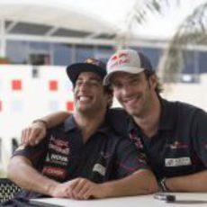 Muy amigos en Toro Rosso
