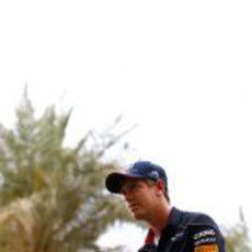 Sebastian Vettel en el Gran Premio de Baréin