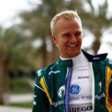 Heikki Kovalainen de vuelta al paddock