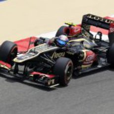Romain Grosjean estrena chasis en Baréin