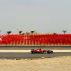 Felipe Massa en los libres de Baréin