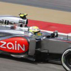 Sergio Pérez afronta su cuarto GP con McLaren
