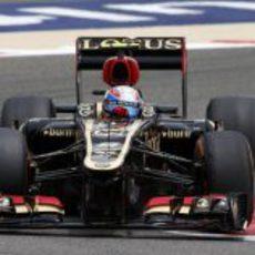 Romain Grosjean avanza en Sakhir