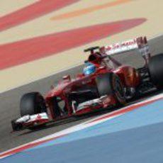 Fernando Alonso fue tercero en la clasificación de Baréin