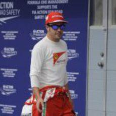 Fernando Alonso, tras la clasificación de Baréin