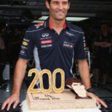200º Gran Premio de Mark Webber
