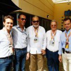 Carlos Slim, presente en el Gran Premio de Baréin