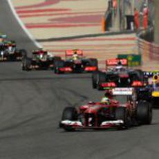Felipe Massa se quedó fuera de los puntos en Baréin