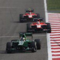 Charles Pic, por delante de los Marussia