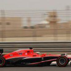 Jules Bianchi completa la jornada del sábado en Baréin