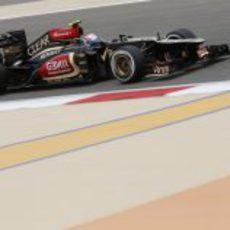 Romain Grosjean se quedó a las puertas de la Q3 en Baréin