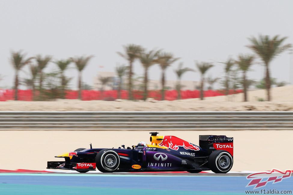 Sebastian Vettel terminó segundo en la clasificación del GP de Baréin