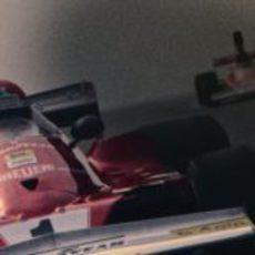 Niki Lauda rodando en la oscuridad