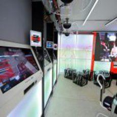 Ferrari presenta su espacio para la prensa