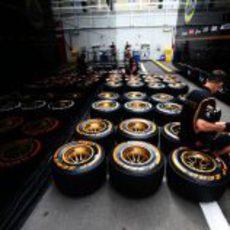 Los nuevos Pirelli duros