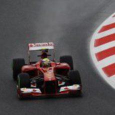 Felipe Massa completó los Libres 1 y 2 de Barcelona con muy buen ritmo