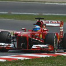 Fernando Alonso empieza el fin de semana en casa