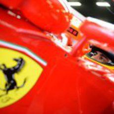 Concentración de Fernando Alonso