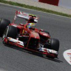 Felipe Massa terminó sexto la clasificación del GP de España 2013
