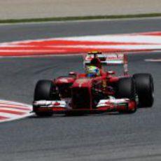 Felipe Massa, el brasileño de Ferrari en Montmeló