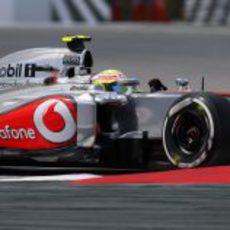 Sergio Pérez afronta la Q3 con el compuesto medio