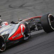 Jenson Button se sintió algo incómodo con el MP4-28